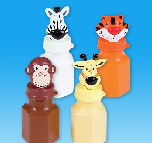0.6OZ ZOO ANIMAL BUBB BOTTLE, Case of 288