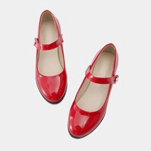 red Mary Jane JOJONUNU Femmes Escarpins UCwH6I