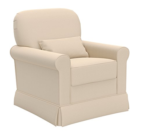Storkcraft Avalon Upholstered Swivel Glider, Desert Sand by Stork Craft