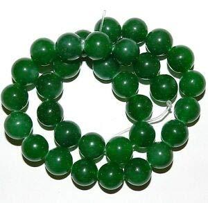 GR1628 Green Candy Malay Jade 12mm Round Quartz Gemstone Beads 15.5