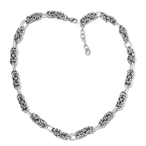 Shop LC Delivering Joy Stainless Steel Fashion Necklace for Women 20
