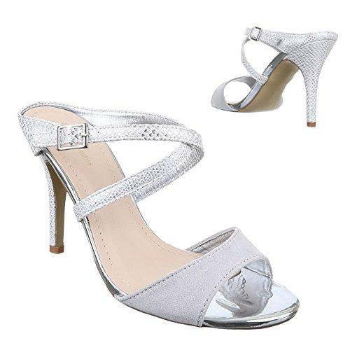 Ital-Design - Sandalias / Sandalias Mujer Gris - gris claro (grey 801)