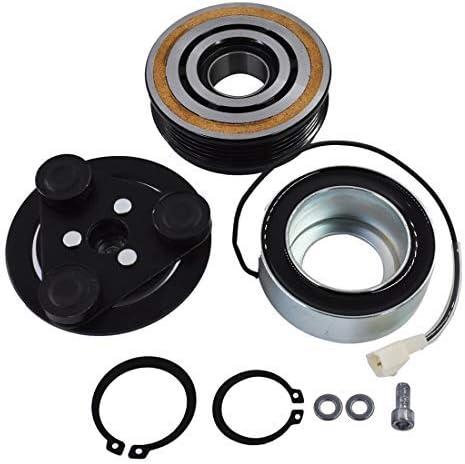 WFLNHB A//C AC Compressor Clutch for Mazda 3 2004-2009 Non-Turbo Model and Mazda 5 2006-2010