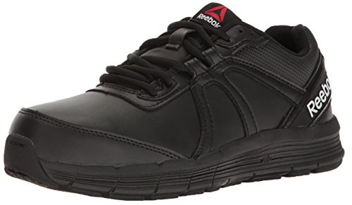 Reebok Work RB351 Women's Guide Work Performance Cross Trainer, Black, 6.5 M (Toe Electrostatic Dissipating Slip)