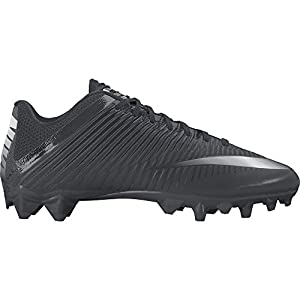 NIKE Men's Vapor Speed 2 TD Football Cleat Black/Anthracite/Metallic Silver Size 13 M US