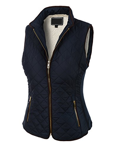 Quilted Down Vest - 3