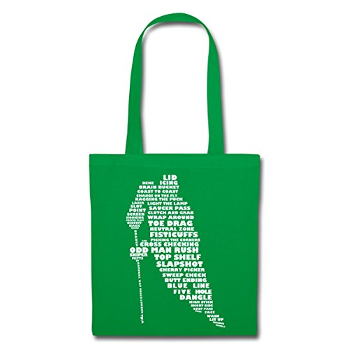 Ice Kelly Hockey Sports Spreadshirt Hobby Terms Tote Bag Green Player 8EFxnOwx