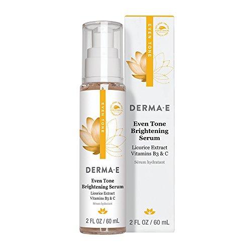 DERMA E Evenly Radiant Serum - 2 Fl Oz, 2 Fluid Ounce