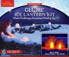 Deluxe Ice Latern Globe Kit (Sculpture Christmas Ice Decorations)