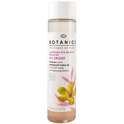 Boots Botanics All Bright Soothing Eye Make-up Remover 5 oz.