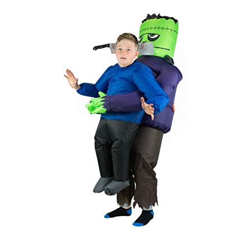 Bodysocks Kids Inflatable Frankenstein Lifting Fancy Dress Costume ()
