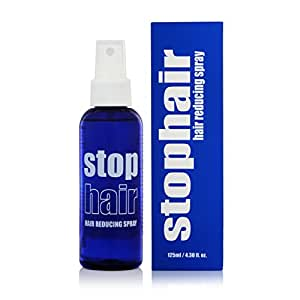 100% Natural Hair Growth Inhibitor Permanent Hair Removal Remover Hair Inhibiting and Reducing to Stop Hair Growth & Body Face Hair Reduction After Epilation Epilating Laser or Wax no no Not Cream 4oz