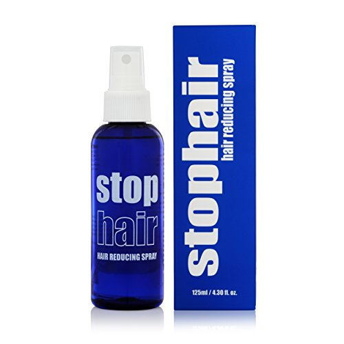 100% Natural Hair Growth Inhibitor Permanent Hair Removal Remover Hair Inhibiting and Reducing to Stop Hair Growth & Body Face Hair Reduction After Epilation Epilating Laser or Wax no no Not Cream 4oz (Removal Hair Lotion)