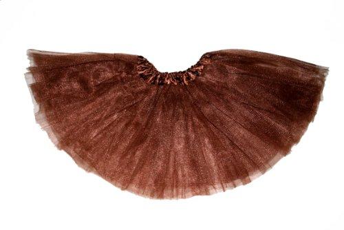 Baby Ballet Dress Up Tutu - Newborns, Kids, Infants & Toddlers (Chocolate (Brown))