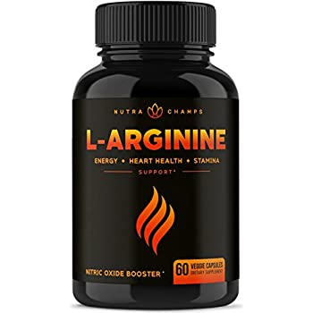 premium l arginine 1500mg nitric oxide supplement extra strength for energy muscle growth heart health vascularity stamina powerful no booster