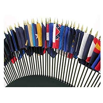 Online Stores State Flags, 4 by 6-Inch, Set of 50]()