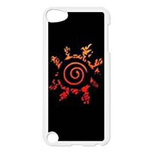 iPod Touch 5 Case White Naruto JDQ Durable Hard Cell Phone Case