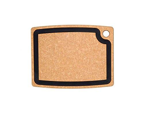 Epicurean Gourmet Series Cutting Board, 14.5-Inch by 11.25-Inch, Natural/Slate (Recycled Series Cutting Board)