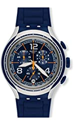 Swatch BLUE FACE Watch YYS4015