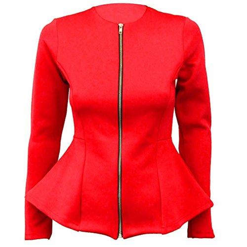 FashionCity - Giacca da abito - donna Red 12