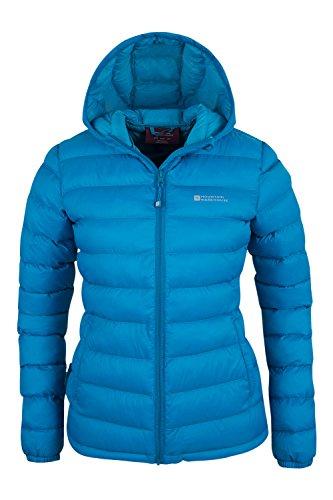 Mountain Warehouse Seasons Women's Water Resistant Warm Padded Jacket Teal 10