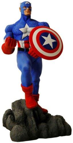 New Avengers: Captain America Statue