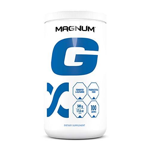 Magnum Nutraceuticals L-Glutamine – 100 Servings – Amino Acid – Immune System Support – Build Repair Lean Muscle – Improve Blood Flow
