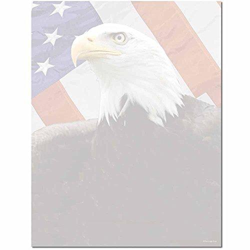 American Eagle Letterhead Laser & Inkjet Printer Paper, 100 pack