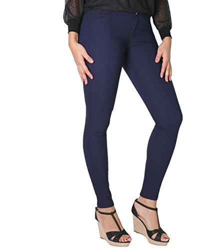 Krisp 2192 Jeans Navy Tapered Donna Basic rwrxfpXv