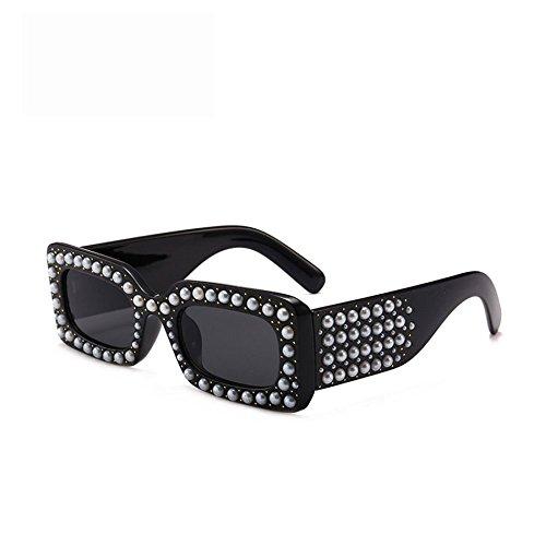 13270bcdea Envio gratis Gafas De Sol Caja Gafas De Sol De Diamantes De Imitación De La  Perla ...