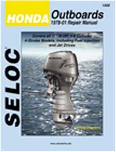 Seloc Honda Outboards 197801 Repair Manual Seloc 9780893300487