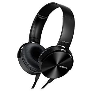 Sony MDR-XB450AP Extra Bass Headphone – Black (International Version U.S. Warranty May not Apply)