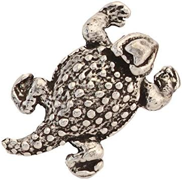 Horny Toad Short Horned Lizard Reptile Pewter Mini Lapel Pin Brooch Jewelry A061MP