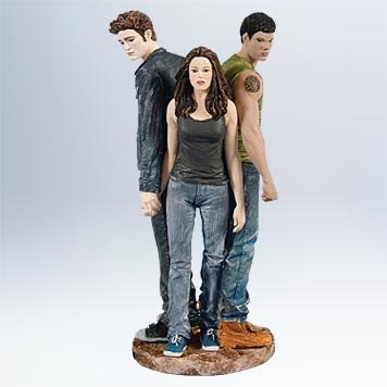 Twilight Saga Eclipse Bella Edward and Jacob Hallmark Ornament - QXI2907