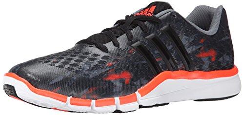 adidas Performance Men's Adipure 360.2 Primo Cross-Trainer Shoe, Dark Grey/Core Black/Solar Red, 10 M US