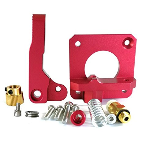 HICTOP Upgraded Replacement Aluminum MK8 Extruder Drive Feed for Creality CR-10, CR-10S, CR-10 S4, and CR-10 S5