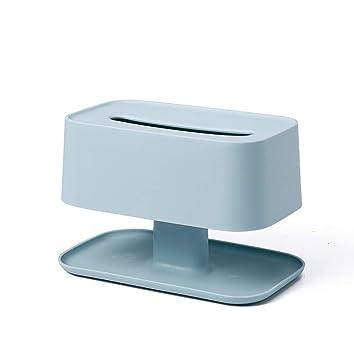 Zcc Caja de toalla de papel simple creativa, caja de recepción de control remoto multifunción