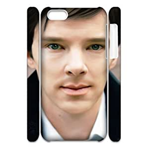 linJUN FENGC-EUR Diy 3D Case Benedict Cumberbatch for ipod touch 5