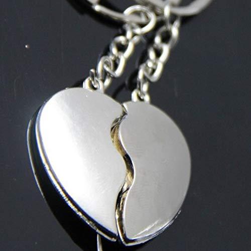 Amazon.com: Key Chains - Heart Keychain Couple Women Men ...
