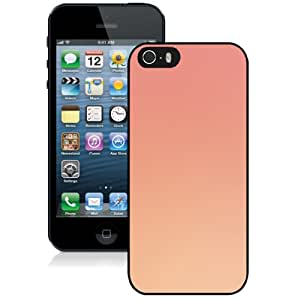 Unique Designed Cover Case For iPhone 5S With Peach Gradation Blur Wallpaper Phone Case