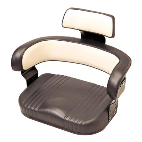 International Harvester Replacement Cushion Seat -Black and White, Model# 56000BW02IH