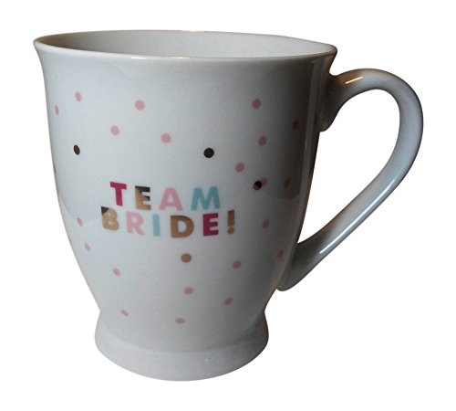 Fringe Studio Wedding Bridal Party Coffee Mug (Polka Dot) (Team ()