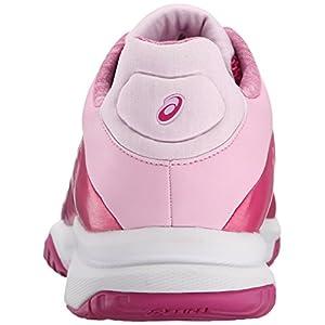 ASICS Women's Gel-Court Bella Tennis Shoe, Berry/Plum/Cotton Candy, 9.5 M US