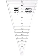 EZ Quilting 30 Degree triangle ruler