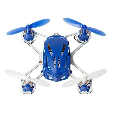 Hubsan H111 Q4 Nano Drone Quadcopter - World's Smallest Mini Kids Drone - 2.4 GHz 4CH RC Drone - Exclusive Blue
