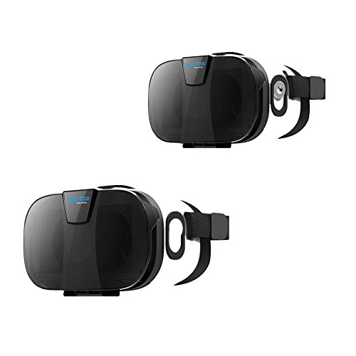HooToo 3D VR Headset with Magnetic Trigger - 2 Pack by HooToo