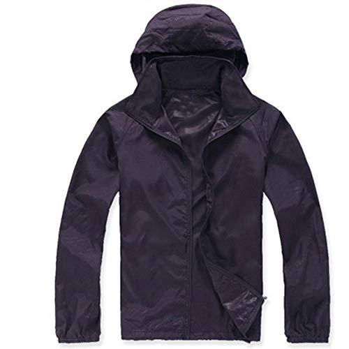 Men Women Lightweight Jacket Waterproof Windbreaker Jacket Protect Running Coat