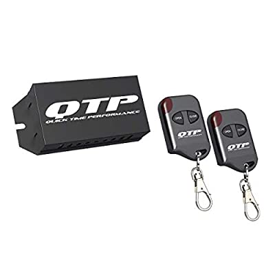 Quick Time Performance 10900 Wireless Adjustable Remote Controller For QTP Electric Exhaust Cutouts: Automotive