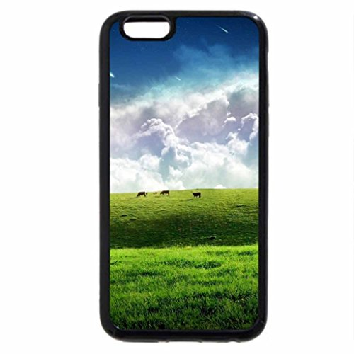 iPhone 6S / iPhone 6 Case (Black) COLORFUL FIELD
