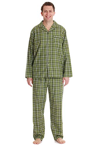 (#followme Mens Pajama Set Pajamas for Men 44931-29-XL Olive)